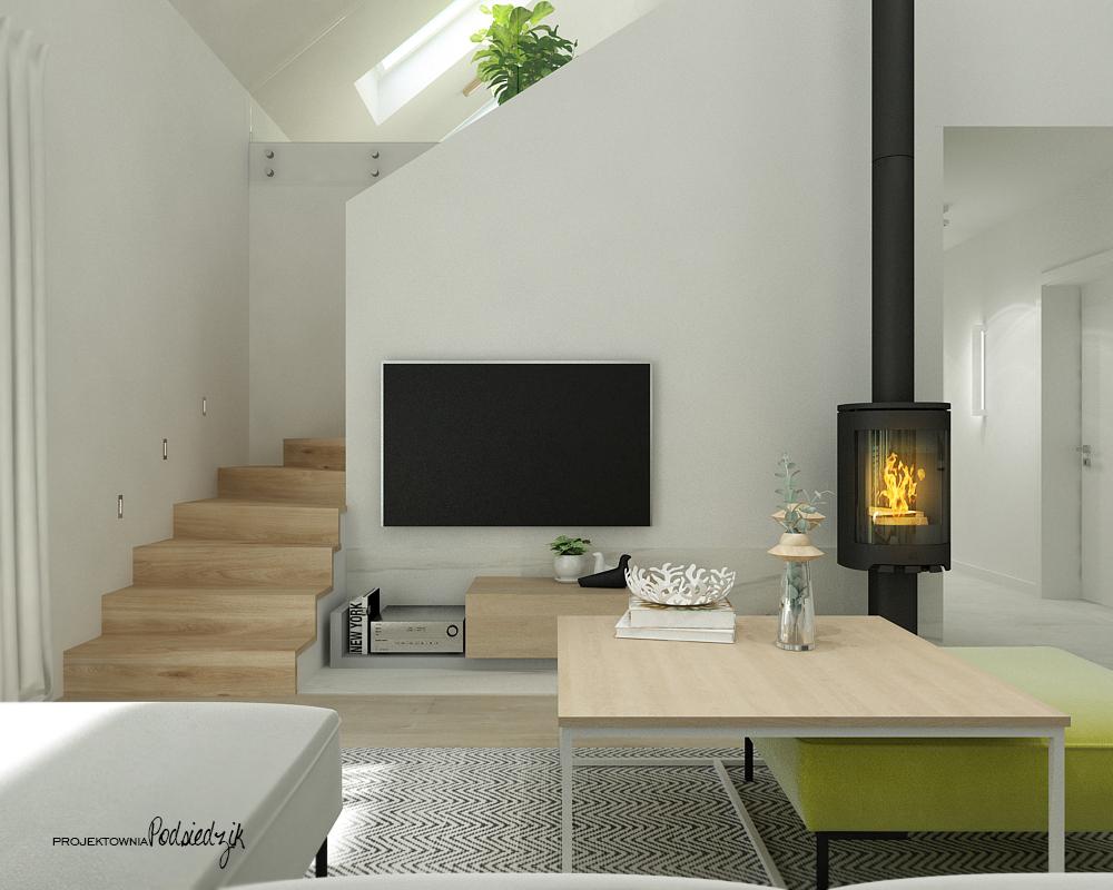 Projektownia Podsiedzik projektowanie wnętrz salon Olesno