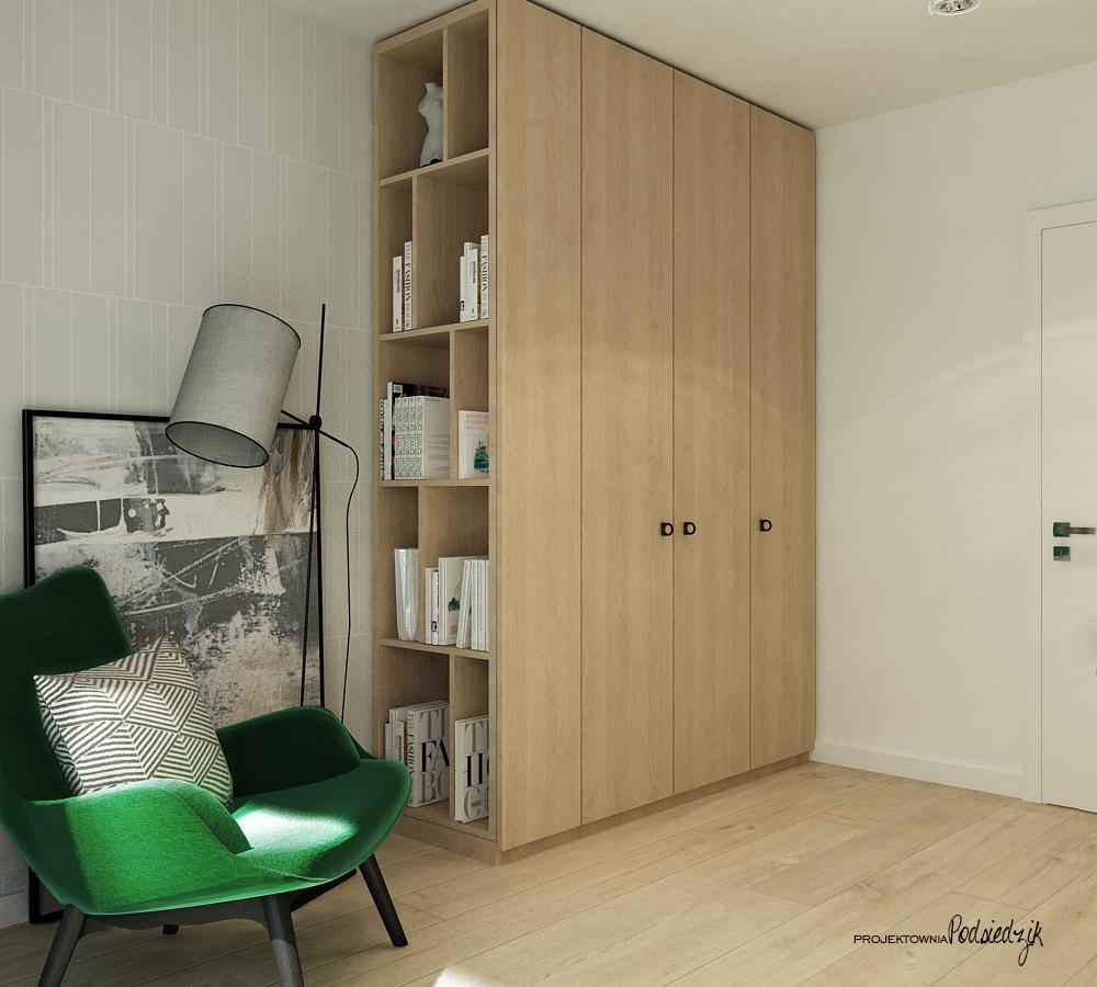 Projektownia Podsiedzik projektowanie wnętrz gabinet Olesno