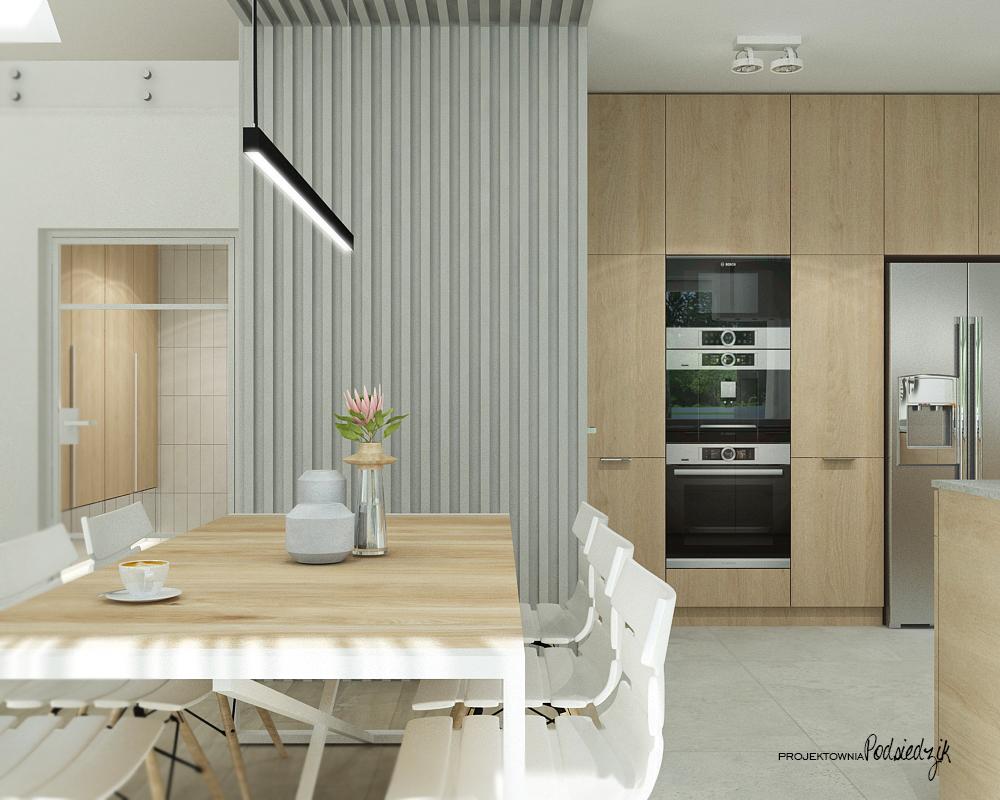 Projektownia Podsiedzik projektant wnętrz kuchnia Olesno - projekty wnętrz