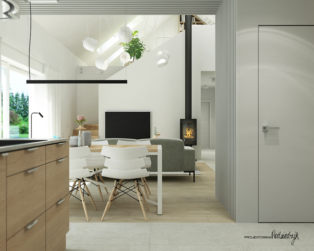 Projektownia Podsiedzik projektowanie wnętrz kuchni Olesno